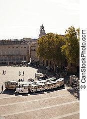 Place du Palais, Avignon, Provence, France, Europe