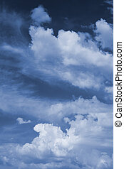 cloudscape - gloomily sky background. cloudscape