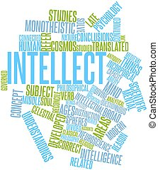 Word cloud for Intellect - Abstract word cloud for Intellect...