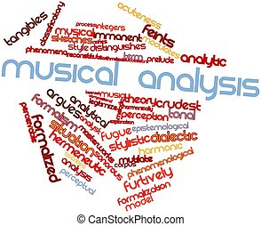 Musical analysis - Abstract word cloud for Musical analysis...