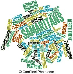 Word cloud for Samaritans - Abstract word cloud for...