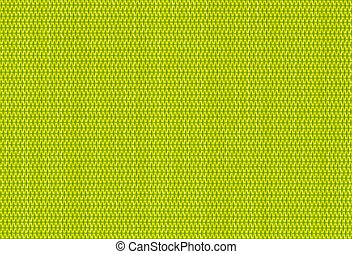 green background of criss cross fab - close up green...