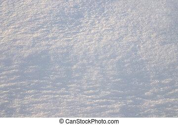 texture, fond, résumé, hiver, neige