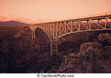 Rio Grande Gorge Bridge - New Mexico.