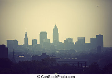 Cleveland - skyline - Cleveland - the city skyline...