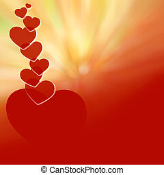 Valentine's Day red background-05