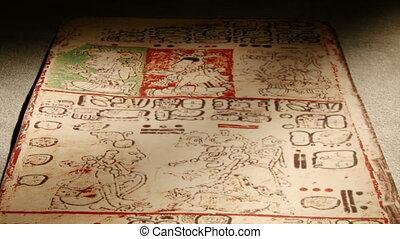Mayan Codex, tilt - Maya codices, folding books, Mayan...