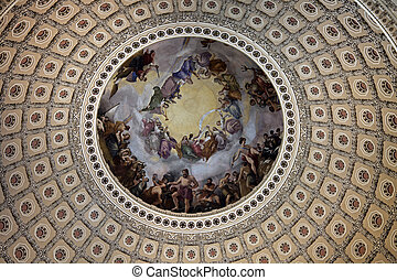 The Capitol - inside dome