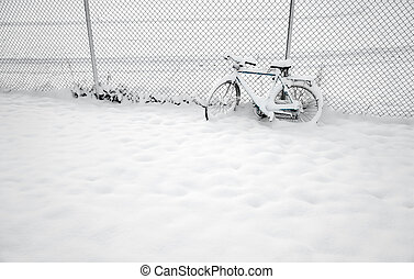 Bike in winter