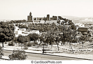 Antequera Castle - View Antequera Castle located in the...