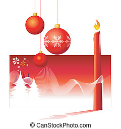 Christmas Decorations - VECTOR