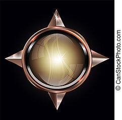 convex button