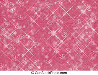 Winter abstract background, christmas stars with snowflakes
