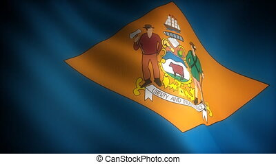 Flag of Delaware seamless