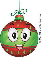 Christmas Ball Mascot