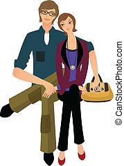 Portrait of couple