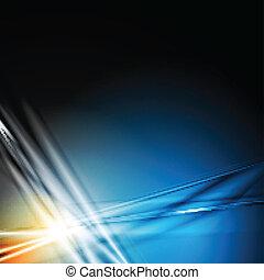 Dark blue modern background - Abstract modern background....