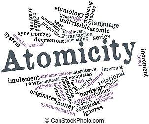 palabra,  atomicity, nube