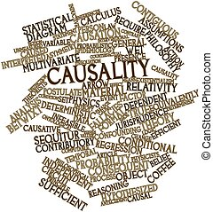 Word cloud for Causality - Abstract word cloud for Causality...