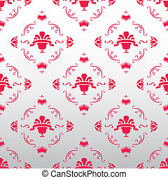 royal vintage wallpaper vector eps