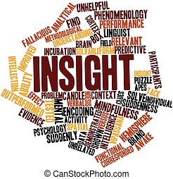 Word cloud for Insight - Abstract word cloud for Insight...