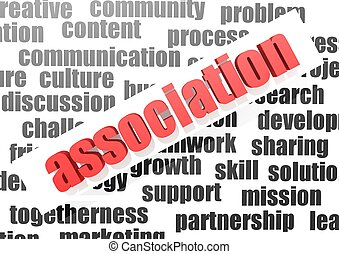 Association - Rendered artwork with white background