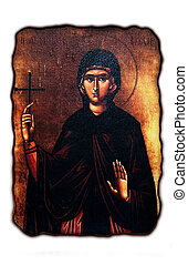 orthodox cristianity icon of mother of Jesus Crist