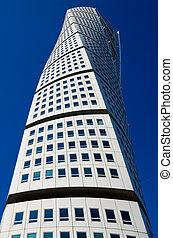 Skyscraper in Malmo, Sweden