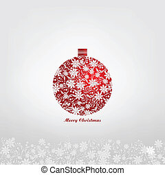 Christmas ball - vintage