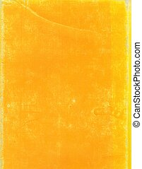 paperboard - yellow paperboard useful as a background