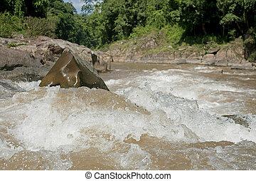 Storm stream water