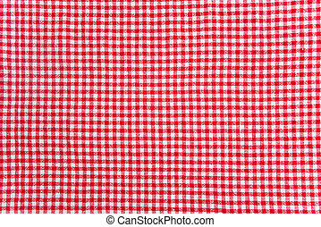 Table cloth texture - red and white table cloth texture....