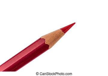 cutbacks. savings and promotions - a red pen on a white...