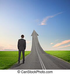 Concept of the road to success