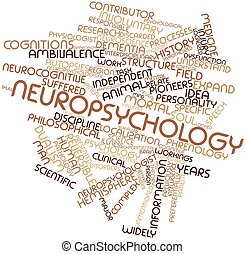Neuropsychology - Abstract word cloud for Neuropsychology...