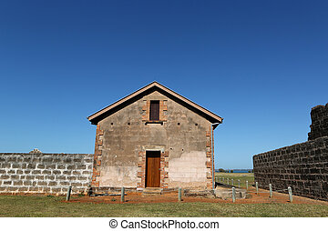 Old Penal Colony - An old Penal Colony jail building on St...