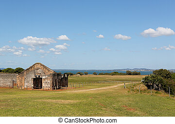 Penal Colony Buildings - Buildings on St Helena Island which...