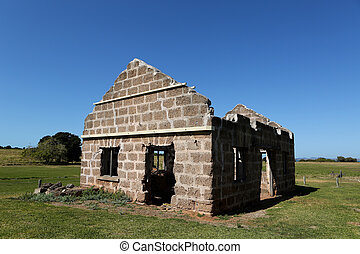 Penal Colony Building - An old jail on St Helena Island now...