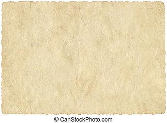 Old beige parchment paper