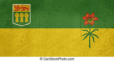 Saskatchewan state flag - Illustration of Saskatchewan state...