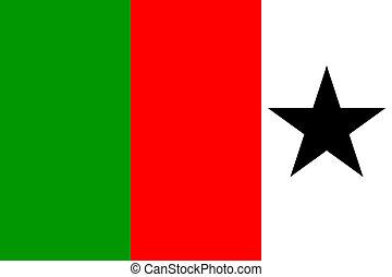 Welsh Republican Tricolour flag