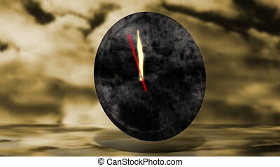 12 Clock - Explosion - Animation on climate change - a...