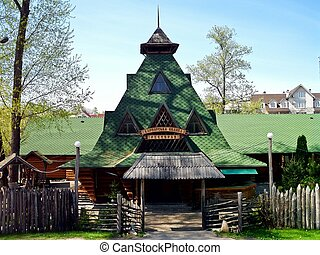 The house in the Carpathian style - This house is located in...