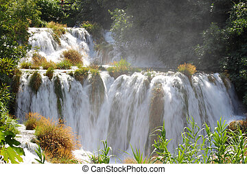 Krka National Park - Croatia - Krka National Park in...