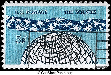 USA - CIRCA 1963 Universe - USA - CIRCA 1963: A Stamp...
