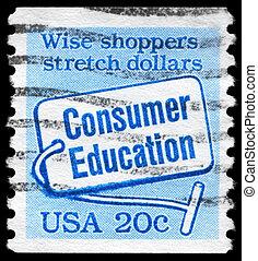 USA - CIRCA 1982 Consumer Education - USA - CIRCA 1982: A...