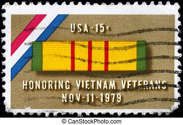 USA - CIRCA 1979 Ribbon