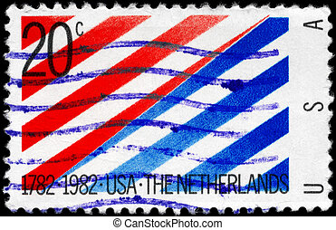 USA - CIRCA 1982 US - Netherlands - USA - CIRCA 1982: A...