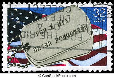 USA - CIRCA 1995 Badge