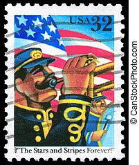 USA - CIRCA 1997 Trumpeter